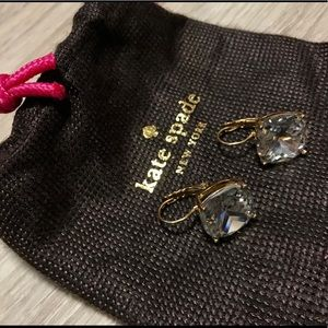 Kate Spade New York Square Leverback Earrings
